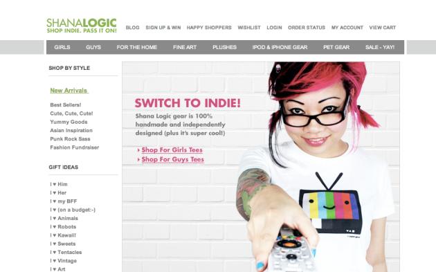 Shana Logic Online Clothing Store