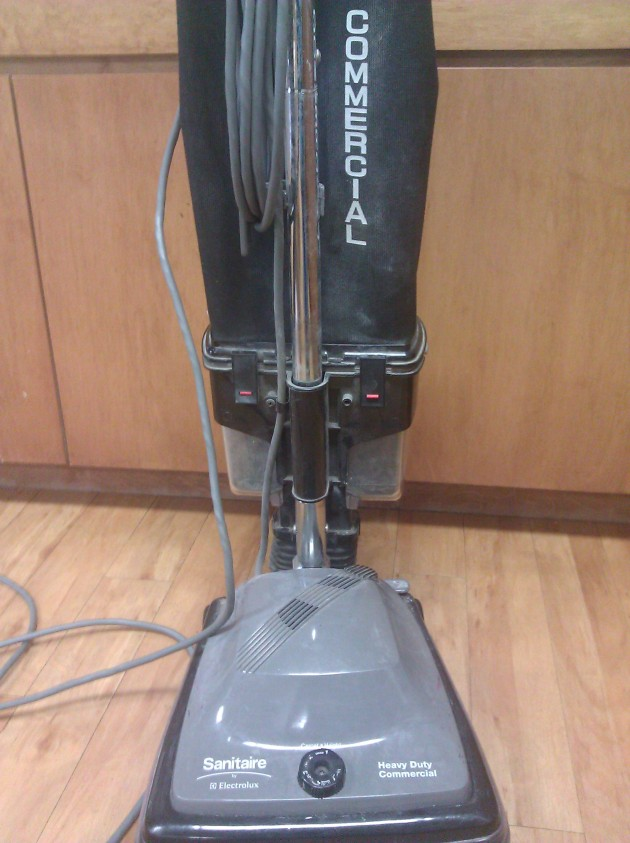 Front View of Electrolux Commercial Vacuum